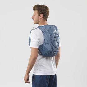 Salomon Agile 12 Zestaw z plecakiem, copen blue/dark denim